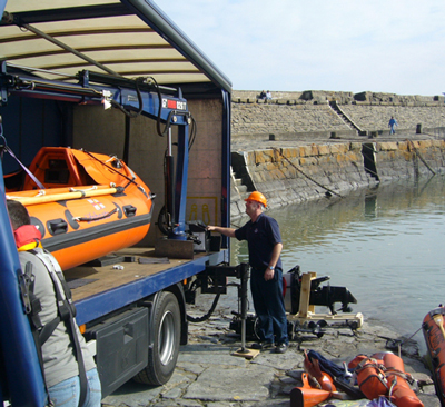 HIAB Helps the RNLI Save Lives