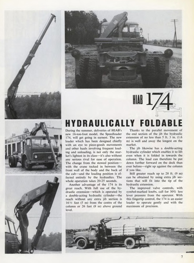 Another Look Back at HIAB - Introduction of Hydraulically Foldable Truck Cranes