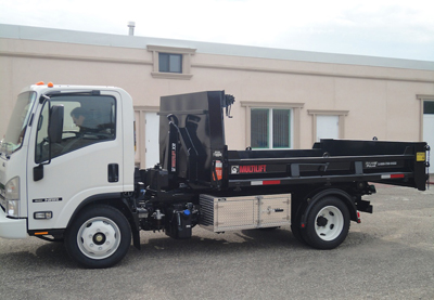 Demo Multilift and Isuzu NRR Truck Package