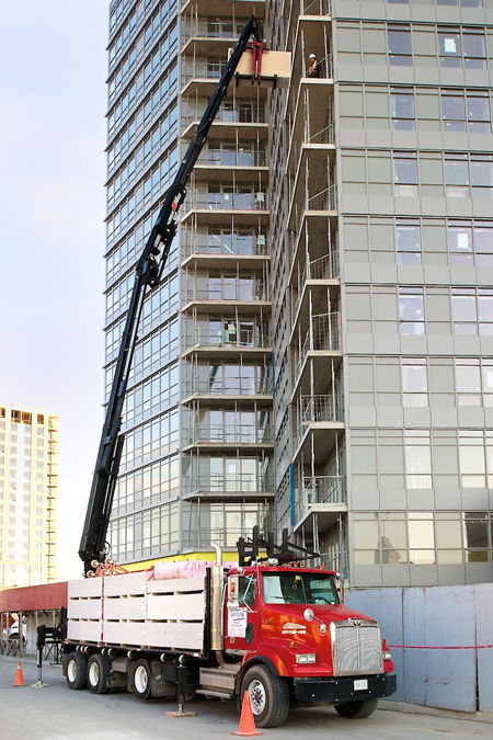 Watson Building Supplies Delivers On Time, Every Time with HIAB Cranes