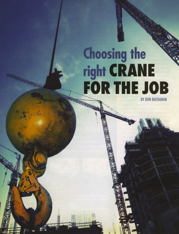 Atlas Polar Talks Cranes with On-Site Magazine