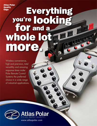 Wireless Crane Polar Remote Controls - New Brochure