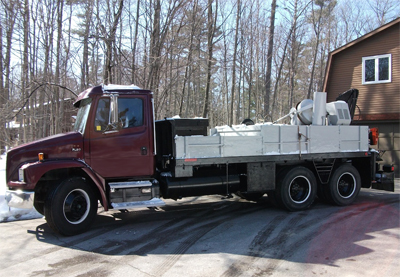 HIAB 650 AW with Freightliner Truck