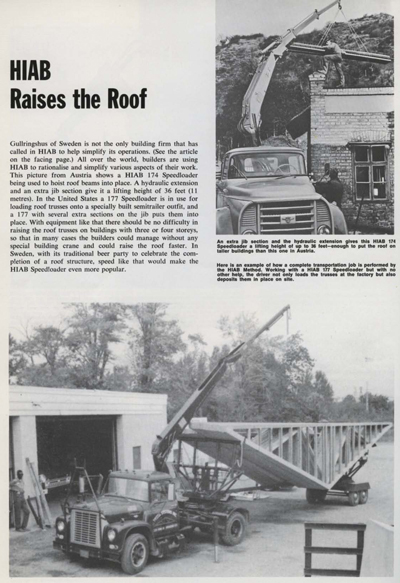 HIAB Raises the Roof