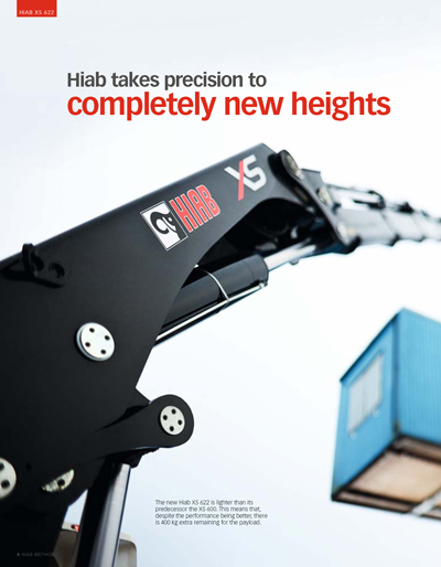HIAB XS 622 Featured in HIAB Method Magazine