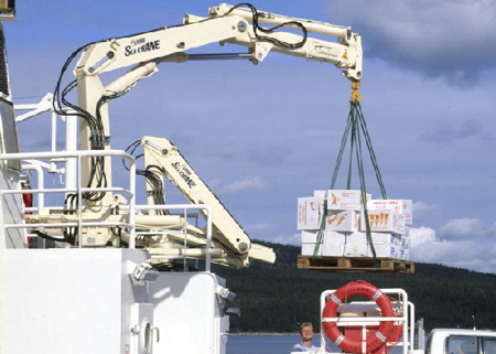 HIAB Sea Crane – Versatility and High Performance in Marine Environments
