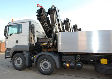 HIAB's Truck Mounted Cranes Now in Iraq
