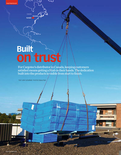 HIAB Equipment - Quality Assurance from the Outset