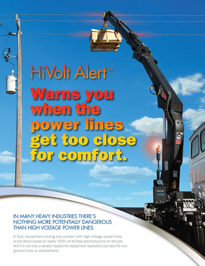 New Wireless HiVolt Alert™ Proximity Warning System from Atlas Polar