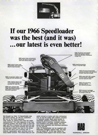 Before the HIAB 174 Speedloader, Manual Loading Was the Norm