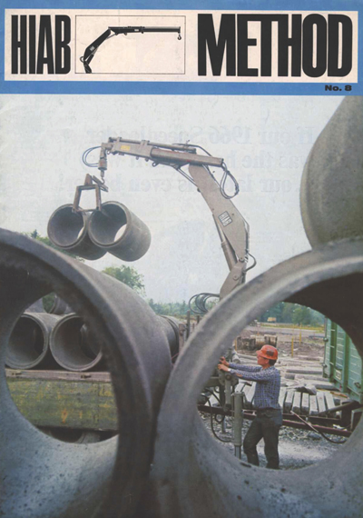 HIAB Method Magazine No. 8 from 1967