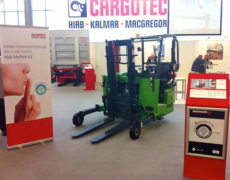 Electric Moffett E2 Truck Mounted Forklift