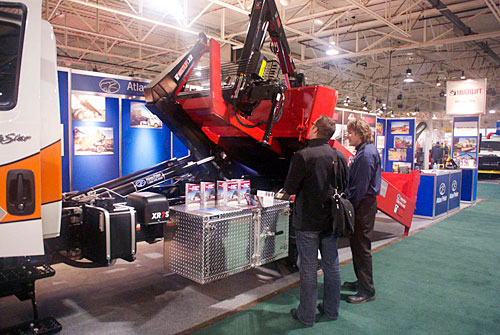 our booth at the Congress 2012 trade show