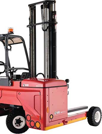 Environmentally Friendly Electric Moffett Truck Mounted Forklifts