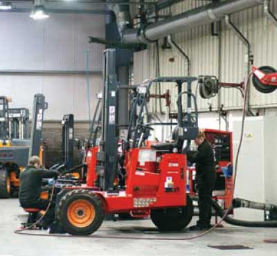 Moffett Forklift Maintenance Tips