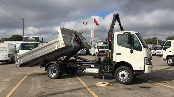 HIAB 044D-3CLX & Multilift Hooklift XR5N on Hino Truck - SOLD