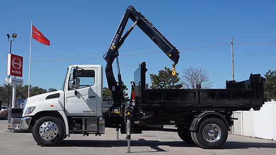 HIAB 088B-3 CLX With Hino Truck For Sale
