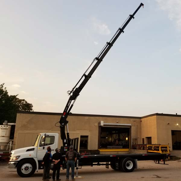 HIAB 138-5 Hi Duo Crane and Hino 338 Truck Package for Sale