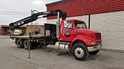 HIAB 145-2 Crane and International 8100 Truck Package For Sale