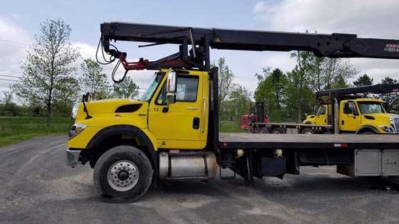 HIAB 255 Crane and 2012 International Truck Package - SOLD