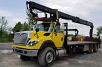 HIAB 255K Crane and 2012 International Truck Package