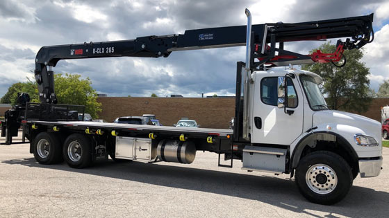 HIAB 265K Crane and Freightliner M2 106 Truck Package for Sale