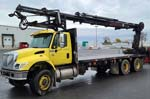 HIAB 288EP-5 CL Crane on International Truck