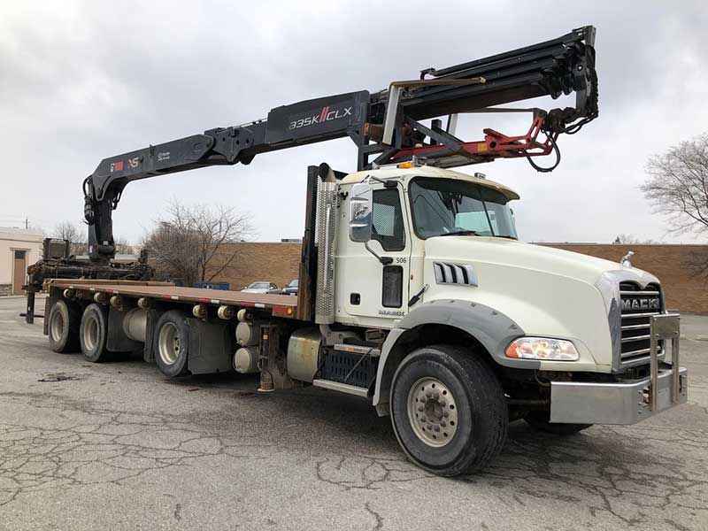 HIAB 335K CLX Crane and Mack Granite Truck Package for Sale