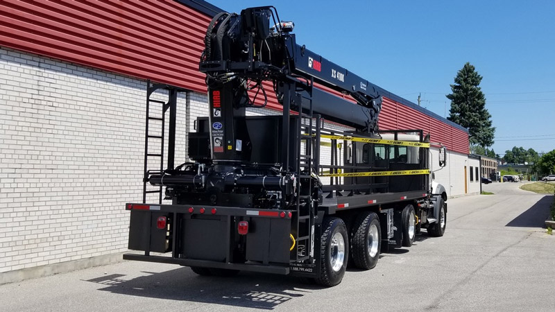 HIAB 410K Crane and Mack Truck Package - SOLD
