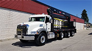 HIAB 410K Crane and Mack Truck Package - SOLD