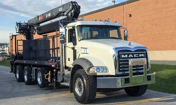 410K Crane on a Mack Truck For Sale