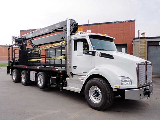 HIAB 410K Pro Crane and Kenworth T880 Truck Package - SOLD