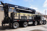 HIAB 410K Pro Crane and Mack Truck Package for Sale