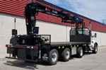 HIAB 435K-4 HiPro Crane and Kenworth T880 Truck Package