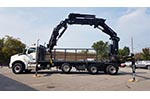 HIAB 638E - 6 + Jib Crane on Kenworth Truck