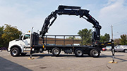 HIAB 638E - 6 + Jib Crane on Kenworth Truck - SOLD