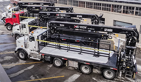 New & Pre-Owned HIAB Boom Trucks