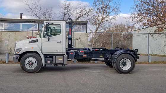 Multilift XR10.36 Hooklift on Hino Truck - SOLD