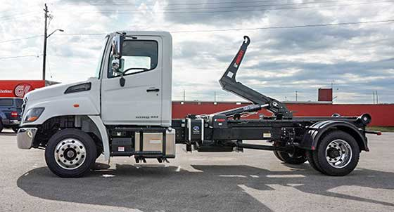 Multilift Hooklift XR7L Hino Truck Package For Sale