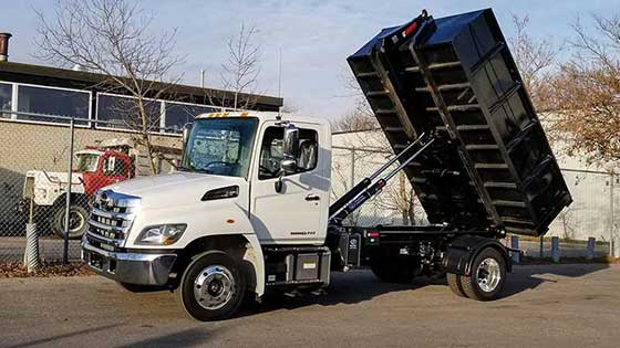 Multilift XR7L on Hino Truck - SOLD