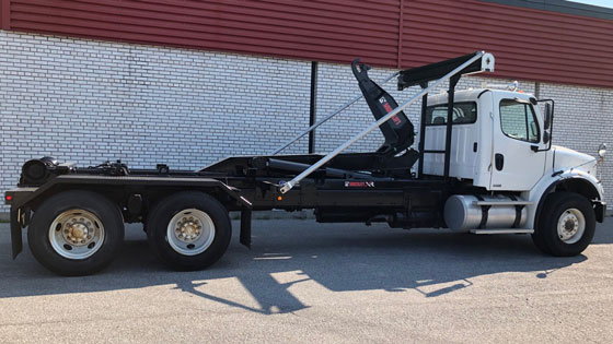 Multilift LHT320.56 Hooklift and Freightliner M2-112 Truck Package for Sale