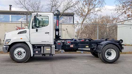Multilift XR10.36 Hooklift and Hino 338 Truck Package - SOLD