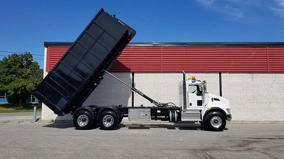Multilift XR16.56 Hooklift and Kenworth T370 Truck Package - SOLD