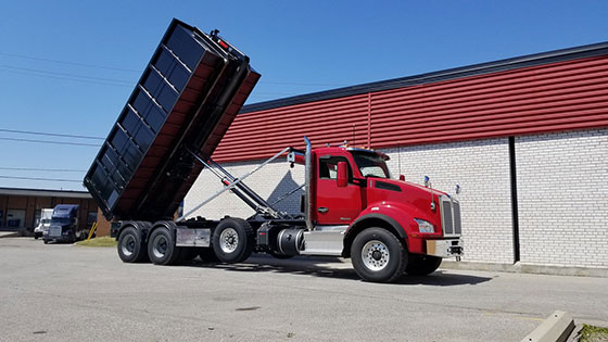 Multilift XR26.61 Hooklift and Kenworth Truck Package - SOLD