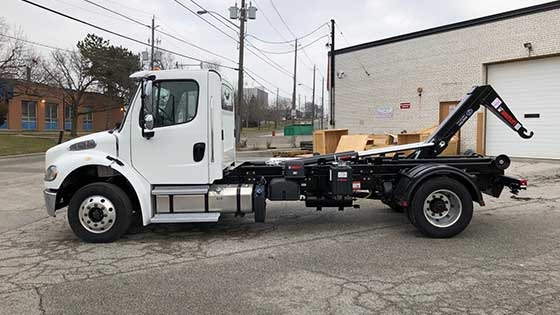 Multilift XR7L Hooklift and Freightliner M2 Truck Package - SOLD