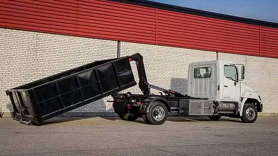 Multilift XR7L Hooklift on Hino 258 Truck for Sale