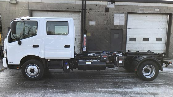 Multilift XR7N Hooklift and Hino Truck Package for Sale