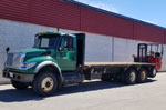 Moffett M8 50.3-10 Forklift and International Truck for Sale
