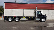 M8 55.3-10 Forklift and Freightliner Truck Package SOLD