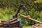 LOGLIFT™ and JONSERED® forestry, railway + recycling cranes